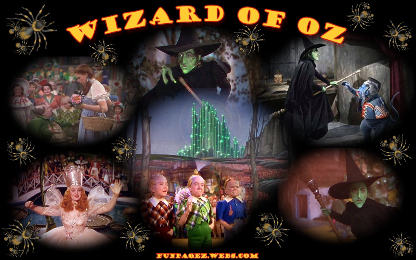 Wizard Of Oz Wallpaper 1 By Mardi S Funpagez Featuring The