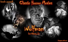 Wolfman with Lon Chaney