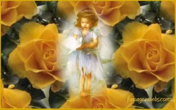 Angels in the Garden Wallpapers by Mardi