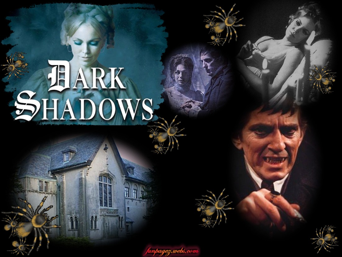 Dark Shadows ~ Classic Monster TV Series of the 60s ~ Mardis Funpagez ...