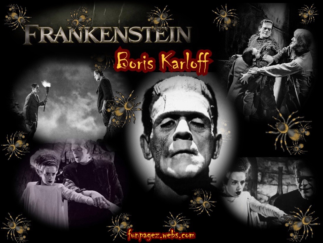 Frankenstein's Monster played by Boris Karloff