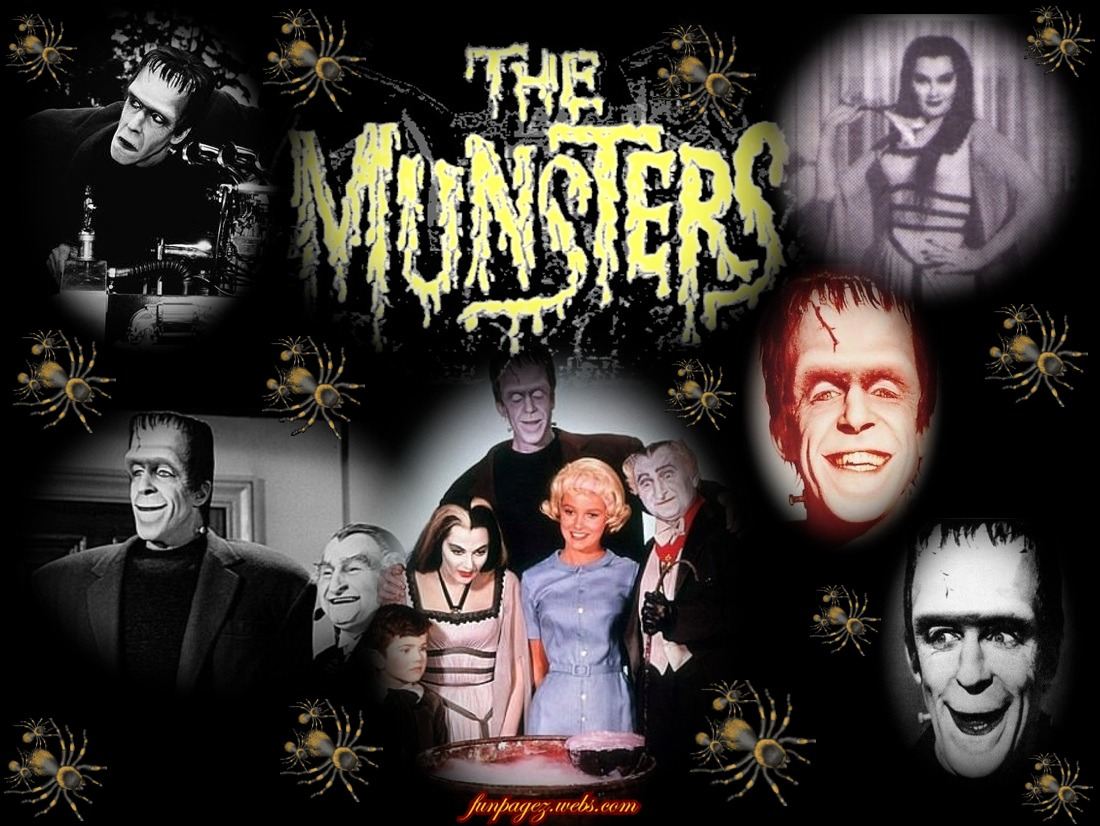 The munsters a 60s comedy tv series about monsters for Classic house voices