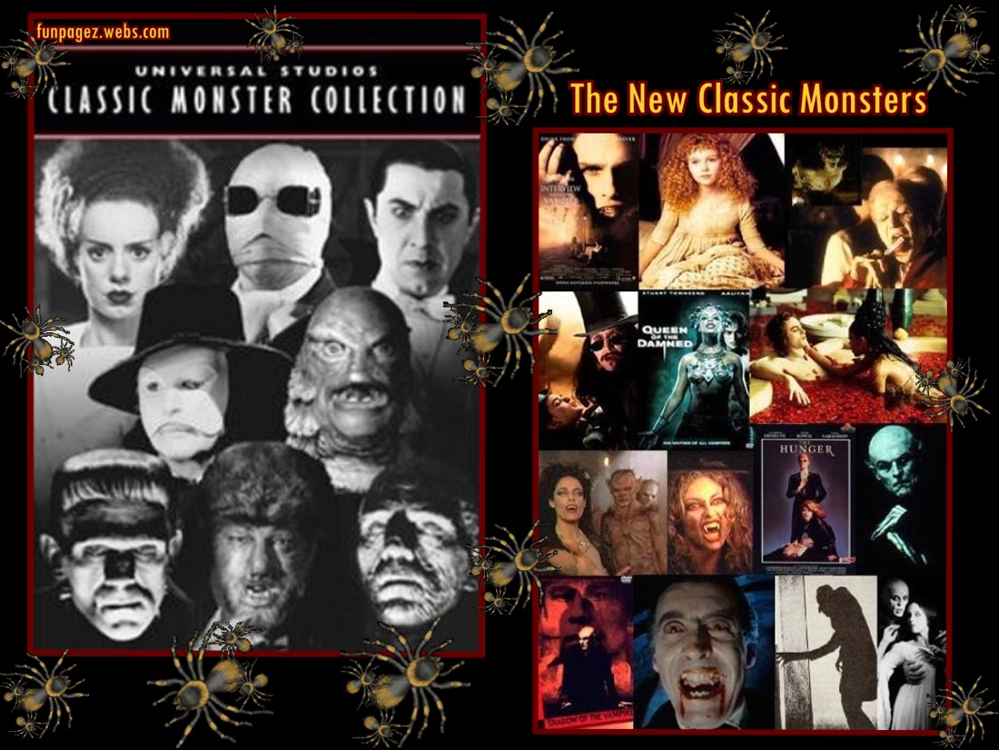 Old and New Classic Monster Movies