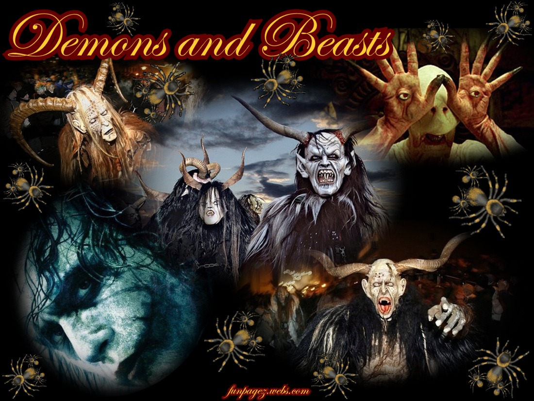 Sci/Fi:  demons, beasts, & the psychopath - Joker