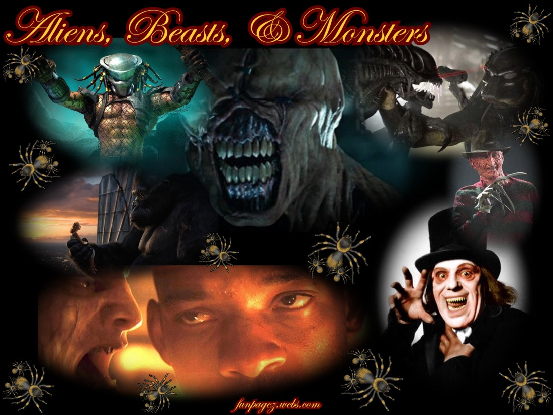 Aliens, Beasts, Monsters, the Infected Undead & Bioweapons
