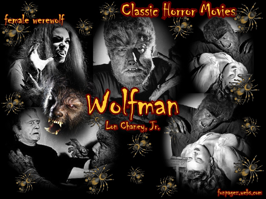 Wolfman by Lon Chaney, Jr., Werewolves, Lycans
