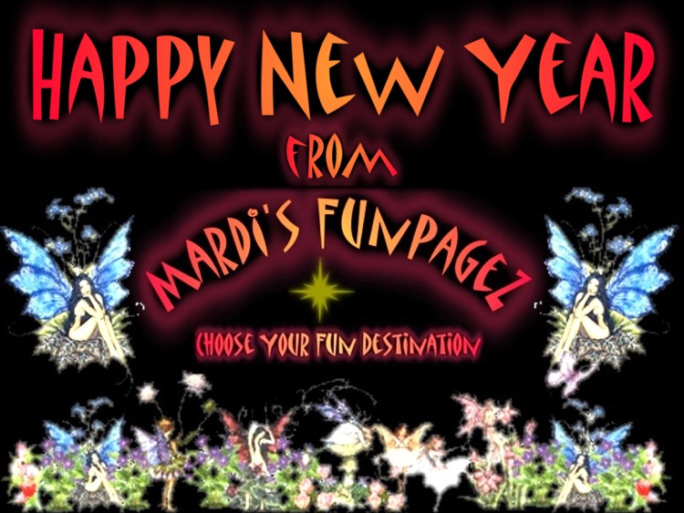 Happy New Year from Mardi's Funpagez!