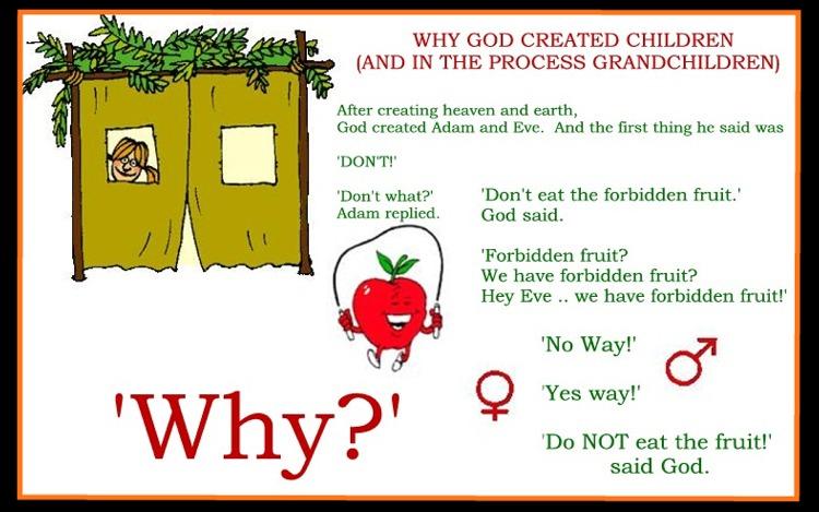 Why God Created Children