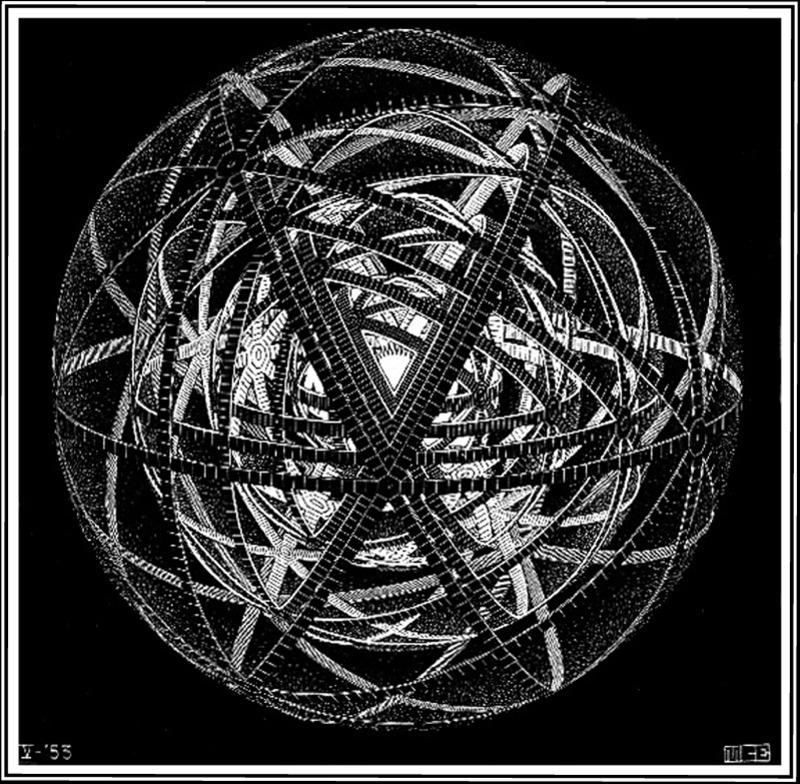 mc escher mathematician first artist last essay