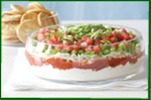 Festive Favorite Layered Dip