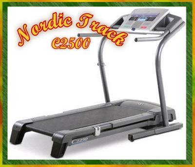 Nordic Track C2500 Treadmill
