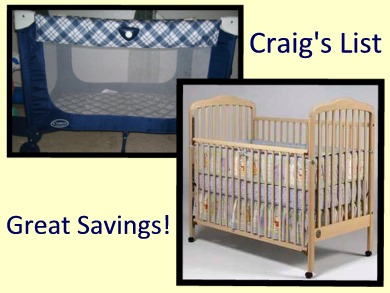 Visit Craig's List for Great Buys!