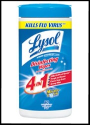 LYSOL® Disinfecting Wipes 4 in 1